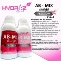 Pupuk Cair AB Mix Khusus Bunga Nutrisi Hidroponik Hydroz - 500ml