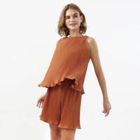 Plisket Set Beatrice Clothing - Pakaian Setelan Wanita