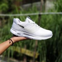 Sepatu Sport Sneakers Pria Wanita Nike Zoom Running Full Putih