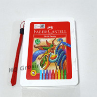 Crayon / Oil Pastel Faber Castell - 1 Set 24 Warna