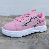 Sepatu Anak Import AJB5 Pink