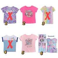 Kaos anak perempuan 7 tahun garanimals baju anak santai branded