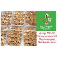 Siomay sayuran/ dimsum / siomay vegan/ makanan vegetarian (15 buah)