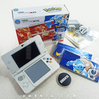 Console New 3DS Limited Edition Pokemon 20th Anniversary Regular 20