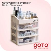 Goto Beatrix Rak Kosmetik 3 Laci Kotak Tempat Make Up Multifungsi