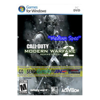 CALL OF DUTY MODERN WARFARE 2 REMASTERED 2020 | CD DVD GAME | PC GAME