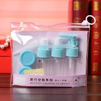 Set Travel Bottle Botol Organizer Toiletries Kit Refill