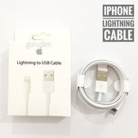 Kabel Charger iPhone Cable Data iPhone 5, 6, 7, 8, X, 11