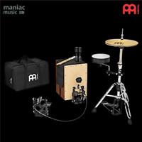 Meinl Caj-Drumset (Cajon Drum Set, Pedal, Hihat, Snare, Accessories)