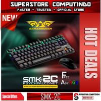 Armaggeddon Keyboard SMK-2C PSYCHFALCONET TKL Mechanical Keyboard