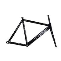 Frame Fixie Pizz Shukaku Black Frame Sepeda Fixie Fixed Gear