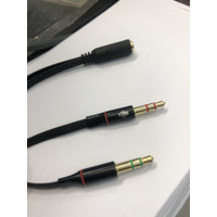 Illusion Audio 3.5mm F to 3.5mm M mic and speaker audio splitter