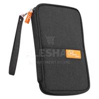 Tas passport / KOREAN Fabric Passport Cover Wallet Card Holder