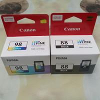 Tinta catridge canon 88&98 satu set ori