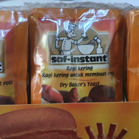 Ragi Saf instant 11gr 4bks / pengembang roti