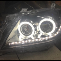 Headlamp depan toyota camry 2009 on 2011 projektor angel eyes