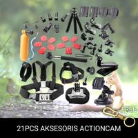 AKSESORIS KAMERA ACTION CAM / Chest Belt Strap Mount/Head Strap Mount