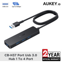 Aukey HUB CB-H37 4-port USB3.0 high-speed data transfer - 500579