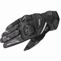 Sarung tangan KOMINE GK234 P Leather Glove Black / Bahan Kulit