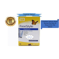 Freestyle Optium Glucose Strip 50 Pcs