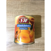Sw Peach Halves 825gr