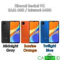 Xiaomi Redmi 9C - 4GB 64GB (4/64) - New Original Garansi Resmi
