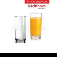 (Gojek ) 6 Pcs - Gelas kaca Citinova Swiss