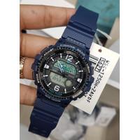Casio WSC-1250H-2AVDF jam tangan cowok warna biru bisa dipakai mancing