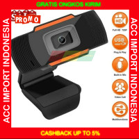 Kamera Webcam PC HD 720P Autofocus Web Cam Android TV Laptop Desktop