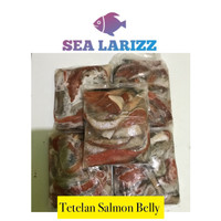 Tetelan Salmon Belly 500 gram
