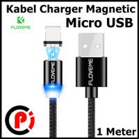 Floveme Kabel Charger Magnetic System Type Micro USB Panjang 1 Meter