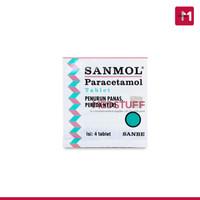 Sanmol Tablet isi 4tab Paracetamol Tablet