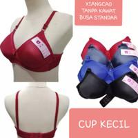 BH Bra wanita 1PCS Tanpa Kawat/Busa Standar/XIANG CAO/Size 34-40 - RANDOM, 38