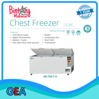 Chest Freezer Frozen Food GEA AB-750-TX