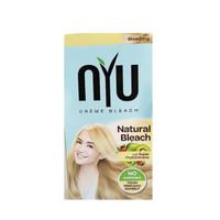 NYU Creme Hair Colour Natural Bleach (NYU Pewarna Rambut Semir Rambut)