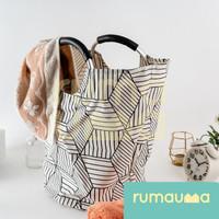 RUMAUMA Tas Keranjang Laundry Pakaian Bag Tempat Penyimpanan Foldable
