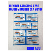 FLEXIBEL FLEXIBLE FLEKSIBEL SAMSUNG GALAXY A7 2018 A750 ON OF OFF RUBB