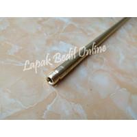Pipa Srombong OD 13 P. 80cm + Nepel Murah