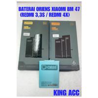 BATERAI BATRE BATTERY XIAOMI REDMI 3 BM47 DOUBLE POWER ORIENS88