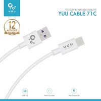 YCBM71C YUU DATA CABLETYPE-C SUPER FAST CHARGING 5A CURRENT