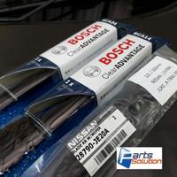 Paket Wiper Depan Belakang All New Nissan Xtrail X-Trail T32 BOSCH