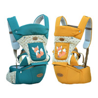 Dialogue Baby Hipseat + Gendongan Ergo 9in1 Baby Foxie Series DGG4152