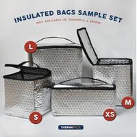 ThermaPack Insulated Bag Sample Set | Tas Aluminium Cooler Bag - 4 Pcs