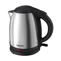 PHILIPS Kettle Listrik Stainless 1.5 Ltr HD9306 Silver Limited
