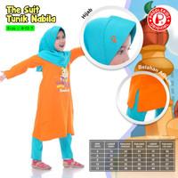 4 5 tahun baju muslim anak tunik setelan perempuan