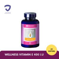 WELLNESS NATURAL VITAMIN E - Antioksidan Lawan Radikal Bebas