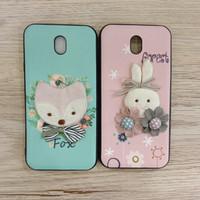 Silikon FS Motif Design Korean Styles Boneka/Soft Case Samsung J7 pro