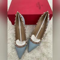 Sepatu Valentino Rockstud High Heels 7 cm Branded Original