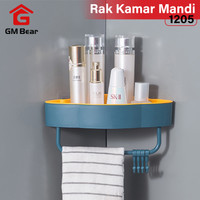 GM Bear Rak Sudut Rak dinding Kamar Mandi 1205-Shampoo Rack