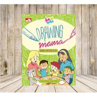 Buku Berlatih melatih Menggambar Drawing Mama Benda Sekitar Kita